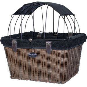 The Pet-Pilot MAX Wicker dog bicycle pet carrier❤️